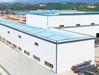 China H Section Prefabricated Steel Structure Warehouse And Workshop factory
