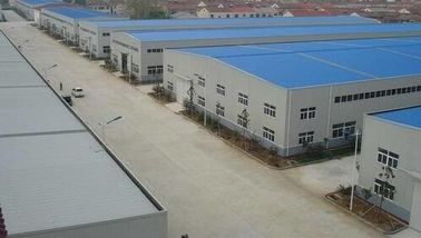 China Anti - Rusty Paint S275 Workshop Steel Structure 7000㎡ With Windows And Doors distributor