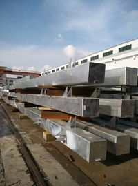 China 4 Sets Hot - Dip Galvanized Structural Steel Warehouse Q235B Steel Material factory