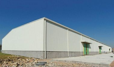 China Recyclable Q355 Steel Structure Warehouse For Fruit / Vegetable Storage factory