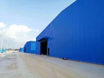 China 40 HQ Contianer Loading Poultry Farm Structure 2.5mm Thickness Galvanized C Purlins & Steel Angles factory