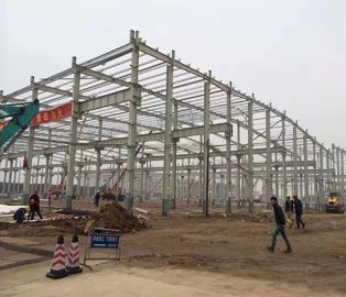 China JIS , DIN Standard Poultry Farm Structure With H Section Column / Beam distributor