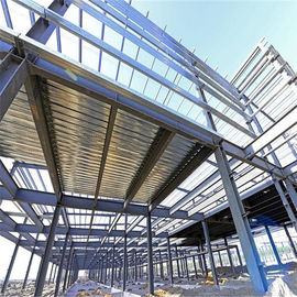 China Fire Proof Light Steel Frame Prefabricated Steel Structure Building For Car Parking Lot factory