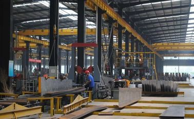 China Hot-Sales H beam Steel Structure Frame For Warehouse & Workshop With Grey Paint factory