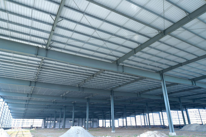 Prefabricated Light Warehouse Steel Structure Materials For  Industrial Building