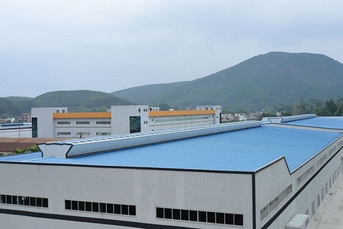 Hot - dip Galvanized Warehouse Steel Structure Prefabricated ISO9001