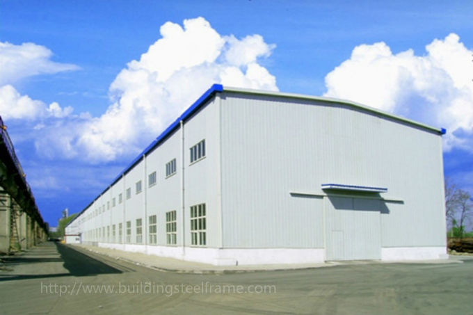 BS Standard Hot Dip Galvanized Prefabricated Workshop Steel Structure Materials
